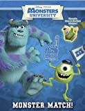 Monster Match! (Disney/Pixar Monsters University) (Reusable Sticker Book)