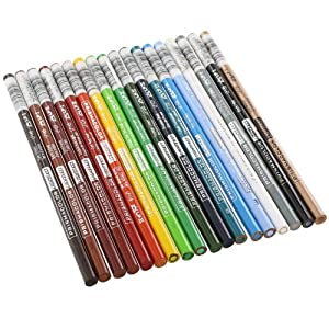Prismacolor Premier Lightfast Colored Pencils, Assorted (Set of 18)
