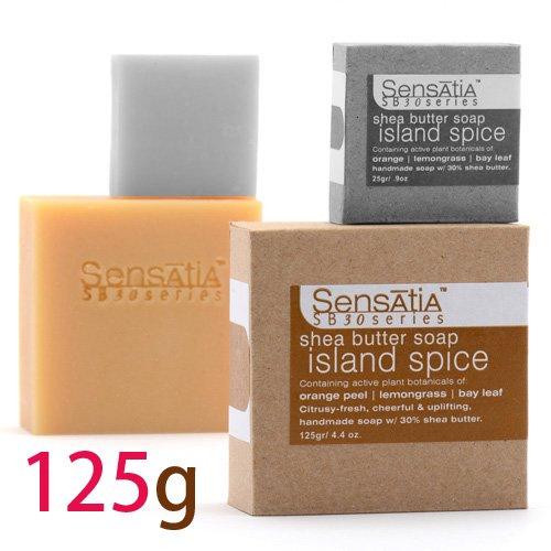 Sensatia センセイシャ シアバターソープ アイランドスパイス 125g
