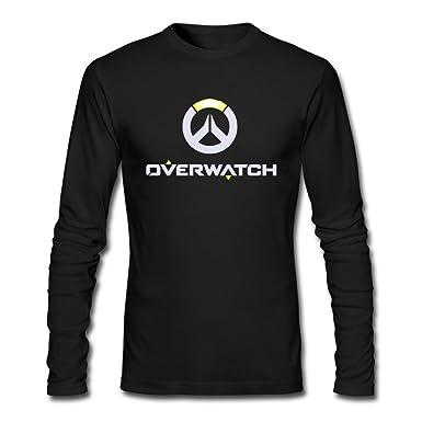 USTJC Men's Overwatch Logo Long Sleeve T Shirt