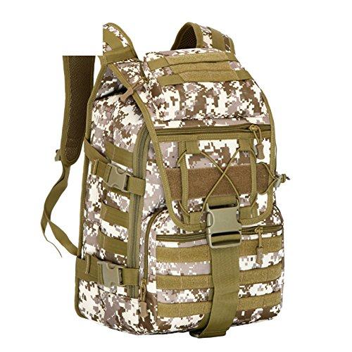 Camouflage sac à bandoulière / extérieur tactique sacs sac / alpinisme sac de voyage / sport-3 40L