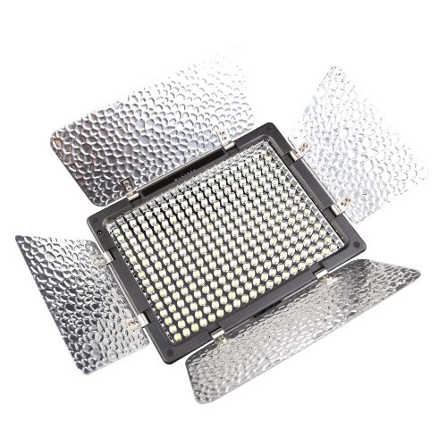 Yongnuo Yn-300Ii Pro Led Video Camera Light Color Temperature Adjustable