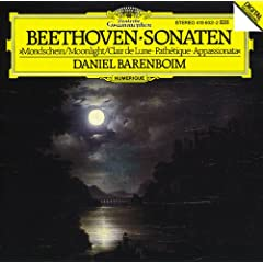 "Beethoven: Piano Sonatas Nos.8 ""Moonlight"", 14 ""Appassionata"" & 23 ""Path�tique"""