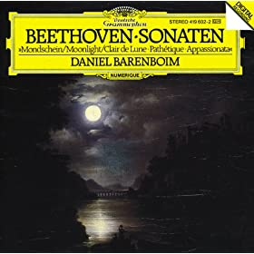 "Ludwig van Beethoven: Piano Sonata No.14 In C Sharp Minor, Op.27 No.2 -""Moonlight"" - 1. Adagio sostenuto"