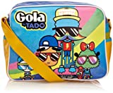 Gola Child Redford Dudes Sports Bag Blue/Yellow/Violet