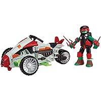 Teenage Mutant Ninja Turtles Mutating Tri-Flyer With Raphael Vehicle