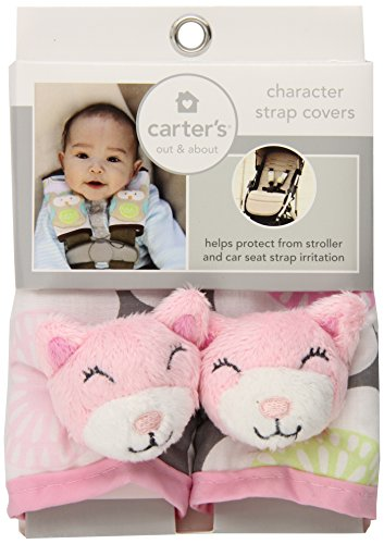 Carter's Animal Strap Covers, Cat - 1
