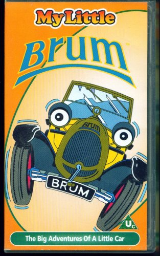 Brum - Brum And The Wedding / Brum And The Helicopter - (pal/vhs)