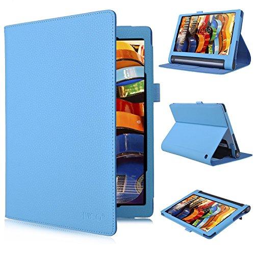 Lenovo-Yoga-Tab-3-Plus-10-Hlle-IVSO-hochwertiges-PU-Leder-Etui-mit-Standfunktion-super-360-Anti-Wrestling-ist-fr-Lenovo-Yoga-Tab-3-Plus-10-Tablet-PC-perfekt-geeignet-Schwarz