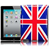 Apple iPad 3 Union Jack Back Cover Case / Shell / Shield Part Of The Qubits Accessories Rangeby Qubits