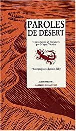 Paroles de désert