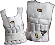 GoFit 10-Pound Walking Vest with Removable Water Bottle Holder