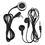 Everydaysource® Compatible With SONY PSP 2000 / PSP 3000 Headset w/ Control Black/Silver