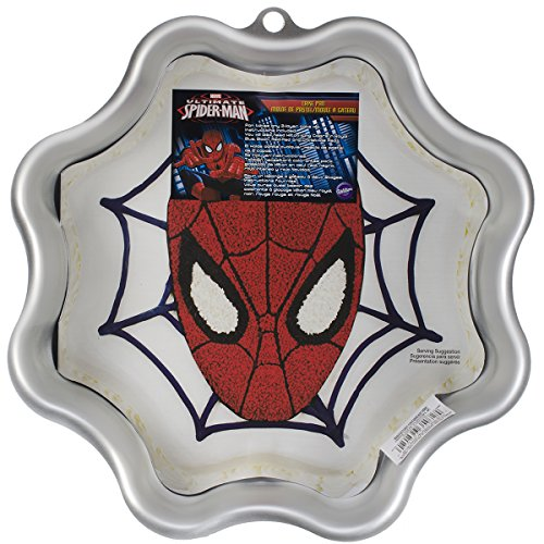 Wilton 2105-5072 Ultimate Spider-Man Cake Pan (Spider Man Cake Pan compare prices)