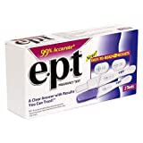 EPT Pregnancy Test, 2-Count Boxes (Pack of 2)