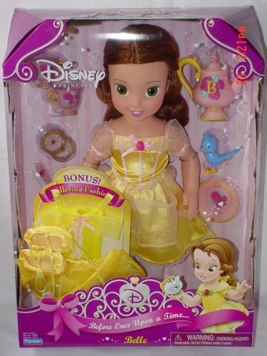Disney Princess Belle Before Once Upon a Time... with Bonus Ballerina Outfit - Buy Disney Princess Belle Before Once Upon a Time... with Bonus Ballerina Outfit - Purchase Disney Princess Belle Before Once Upon a Time... with Bonus Ballerina Outfit (Playmates, Toys & Games,Categories,Dolls)