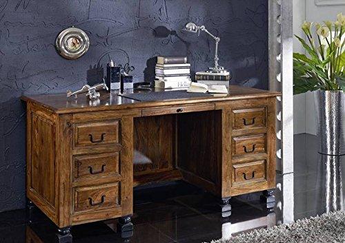 Stile coloniale Stil legno massiccio Sheesham legno mobili scrivania in palissandro completamente in legno massiccio laccato massiccio Möbel Boston #206