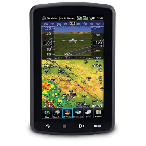 Garmin aera 796 Portable Touchscreen Aviation Navigators with 3D Vision