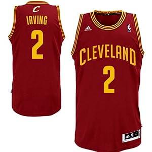 NBA adidas Kyrie Irving Cleveland Cavaliers Revolution 30 Swingman Jersey - Wine by adidas