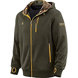 Legendary Whitetails Men\'s Double Time Performance Hoodie Olive Small