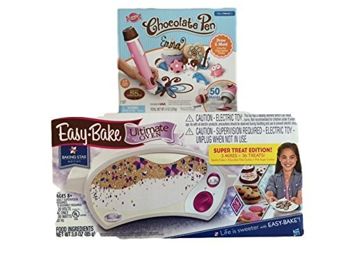 Easy-Bake Ultimate Oven & Candy Craft Pink Chocolate Pen Bundle (Easy Bake Real Meal compare prices)