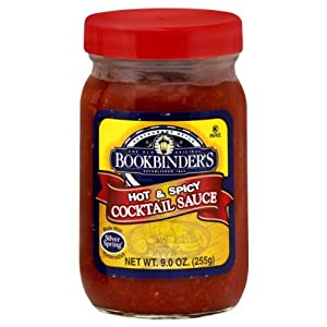 Bookbinders Sauce Hot Spicy Cocktail 9-ounce Pack Of 12 from Bookbinder's