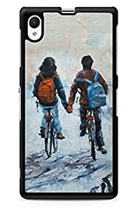 GeekCases Together Forever Back Case for Sony_Xperia Xperia Z1
