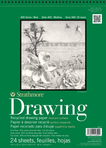 Strathmore Series 400 Premium Recycled Drawing Pads 14 in. x 17 in.