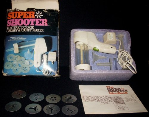 Wear-Ever Super Shooter Electric Cookie, Canape & Candy Maker Wearever