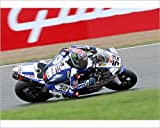 Photographic Print of Yamaha YZF R1 - James Toseland from Car Photo Library