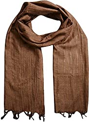 Sahiba Creation trendy and colourful women stole for all time wear(brown)