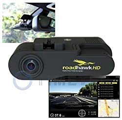 Car Black Box -Timetec Road Hawk 1080P HD Car Vehicle Road Traffic Accident/Incident Dash Windshield Dashboard Video Audio Camera Recorder Camcorder DVR System Black Box Built in Microphone, GPS, G Gravity Sensor with SD Memory Card, Media Player of Route