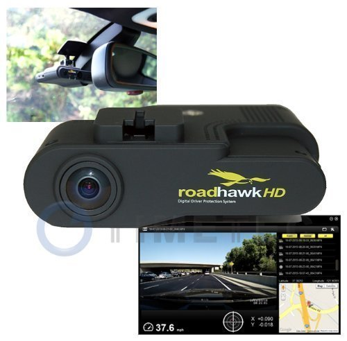 Timetec 62RHG680-B8G Road Hawk HD 1080P Automobile Digital Video Recorder System with GPS, Gsensor & Google Maps, Black