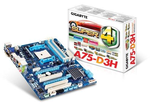 Gigabyte FM1 Hudson D3 4xDDR3 GBE LAN RAID 5xUSB3.0 Heatsink DOLBY ATX Motherboard (Rev 1.0)