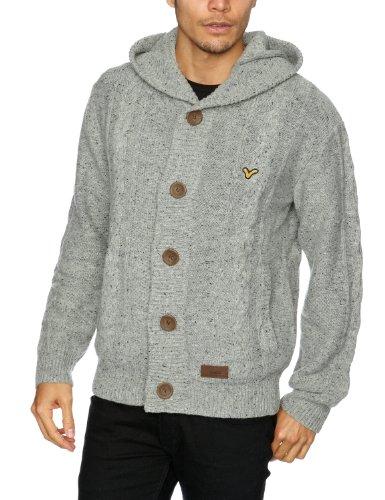 Voi Jeans Bramble Men's Jumper Grey/Black Speckled Medium