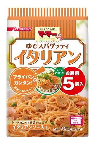 マ・マー ゆでスパゲッティ イタリアン 5食入