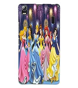 ColourCraft Lovely Cartoon Angels Design Back Case Cover for LENOVO A7000