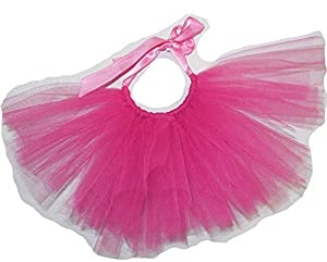 Handcrafted in USA Hotpink Tulle Tutu for Dogs