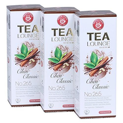 Teekanne-Tealounge-Kapseln-Chai-Classic-No-265-Schwarzer-Tee-3x8-Kapseln