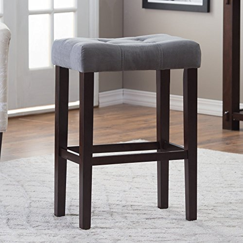 Palazzo 26 Inch Saddle Counter Stool Shopswell