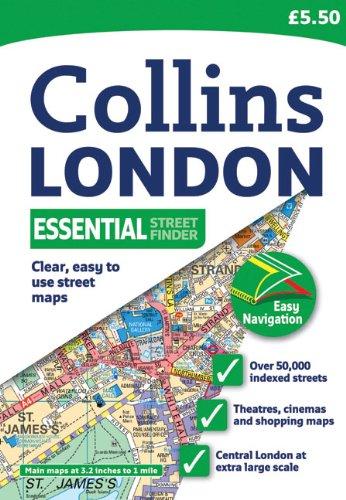 Collins London Essential Street Finder (Collins Travel Guides) PDF