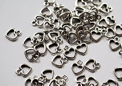 special-offer-10-x-love-heart-charms-buy-one-bag-get-one-bag-freeantique-silver-coloured-free-attach
