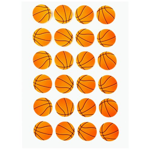 Basketball Sticker Sheet Party Accessory - 1