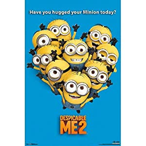 : Despicable Me 2 Minions Movie Poster: The Minions: Posters & Prints