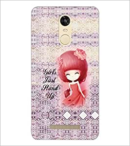 PrintDhaba Quote D-5760 Back Case Cover for XIAOMI REDMI NOTE 3 (MEDIA TEK) (Multi-Coloured)
