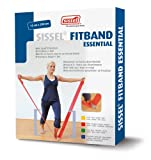 Sissel Fit Essentials Physiotherapy Band - One Size, Red