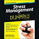 Stress Management For Dummies, 2nd Edition Hörbuch von Allen Elkin PhD Gesprochen von: Tom Pile