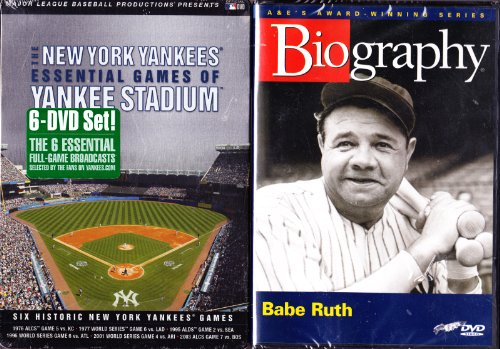 New York Yankees : Essential Games of Yankee Stadium , Babe Ruth Biography : 7 Disc Bronx Bombers Collection at Amazon.com