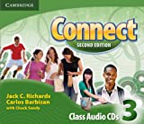 img - for Connect Level 3 Class Audio CDs (3) (Connect Second Edition) book / textbook / text book