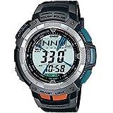[カシオ]CASIO 腕時計 PROTREK プロトレック TRIPLE SENSOR TOOL CONCEPT タフソーラー 電波時計 ブラック PRW-1000J-1JR メンズ
